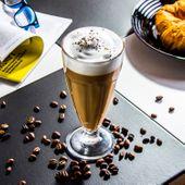 SZKLANKA do napojów kawy LATTE wysoka 380 ml zdjęcie 2