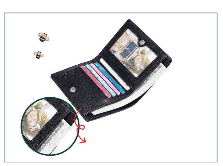 f94e1f7fa760f JUST STAR Skromny portfel z kokardą Ecru • Arena.pl