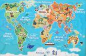 Mapa świata - edukacyjny tablet dla dzieci – język polski zdjęcie 7