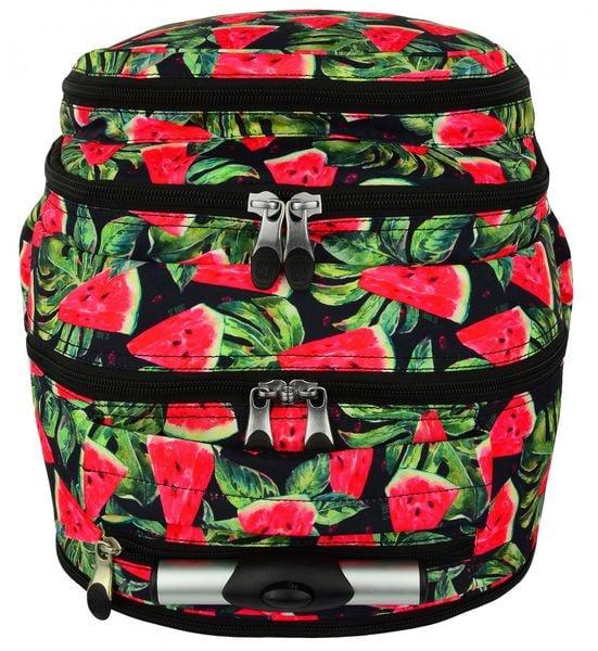 9108acd04 Plecak ST.RIGHT na kółkach Watermelon czarny w arbuzy TB1 szkolny  młodzieżowy (19441)