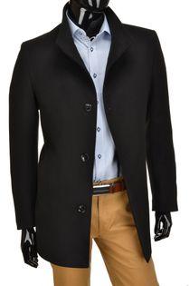 Płaszcz wizytowy czarny EVAN rozmiar 54, wzrost 170/176 produkt Polski