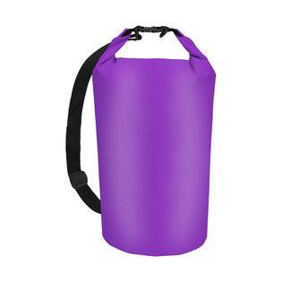 Worek torba wodoodporna wodoszczelna 10 L FIOLETOWY