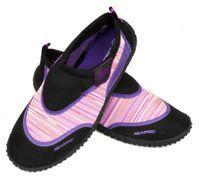 Buty do wody AQUA SHOE MODEL 2 22-34 Rozmiar - Obuwie plażowe - 25, Kolor - Obuwie plażowe - Model 2 - A - czarny / różowy