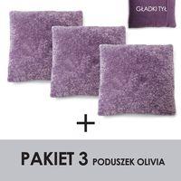 PAKIET OLIVIA Kpl.3 poduszek 45x45cm     100% polyester