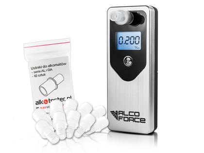 ALKOMAT AlcoForce EVO +KALIBRACJE elektrochemiczny