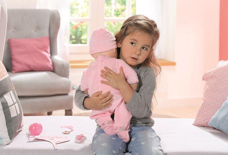 BABY ANNABELL LALKA INTERAKTYWNA 8 FUNKCJI GIRL 794401 zdjęcie 9