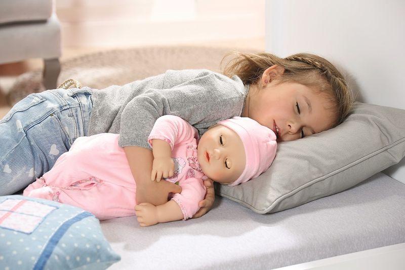 BABY ANNABELL LALKA INTERAKTYWNA 8 FUNKCJI GIRL 794401 zdjęcie 8