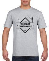 Koszulka męska DLA WEDKARZA ZAWODOWIEC s XL
