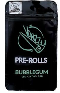 Joint CBD Vonzzy pre-rolls Bubblegum 2 szt