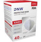 Maska ochronna filtrująca DNW FFP2 NR D N95 KN95 zdjęcie 4