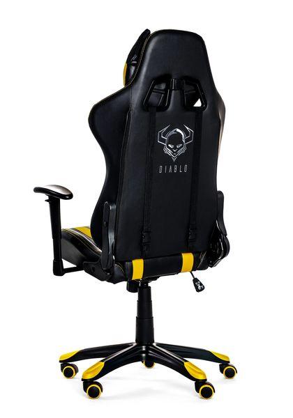 Fotel obrotowy gamingowy kubełkowy dla gracza DIABLO X-ONE ORYGINALNY zdjęcie 2