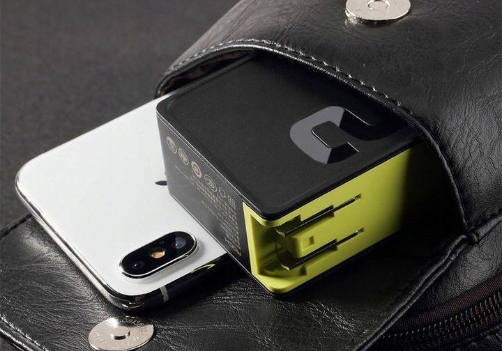 Ładowarka Sieciowa USB ROCK Quick Charge 3.0 30W zdjęcie 3