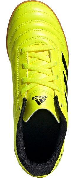 Buty piłkarskie adidas Copa 19.4 IN JUNIOR żółte F35451 31