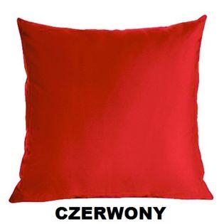 Poszewka Satynowa na Poduszkę 50x60 CZERWONY