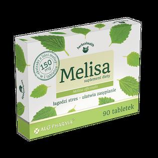 MELISA 150 mg łagodzi stres ułatwia zasypianie 90t