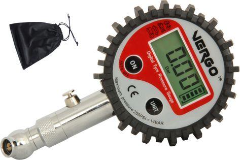 Ciśnieniomierz cyfrowy opon kół manometr 14 BAR/ 200 PSI