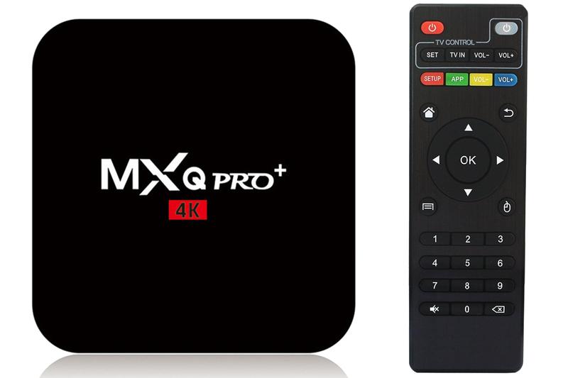 TV Box MXQ PRO+ 2/16GB ANDROID 7.1 PL SMART TV 4K UHD S905W zdjęcie 1