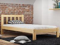 Łóżko 90x200 Ofelia + Wysoki Zagłówek Stelaż