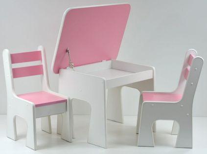 Stolik z krzesełkiem dla dzieci - Wybór kolorów
