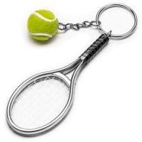 Brelok do kluczy BRELOCZEK tennis ziemny piłeczka
