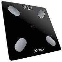 Inteligentna waga łazienkowa bluetooth Xtech czarna