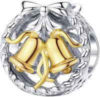Charms Srebro – Dzwoneczki Świąteczne