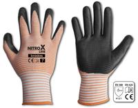 Rękawice ochronne NITROX LINE nitryl, rozmiar 9 (6524)