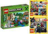 LEGO MINECRAFT 21123 ŻELAZNY GOLEM + 2 KATALOGI LEGO
