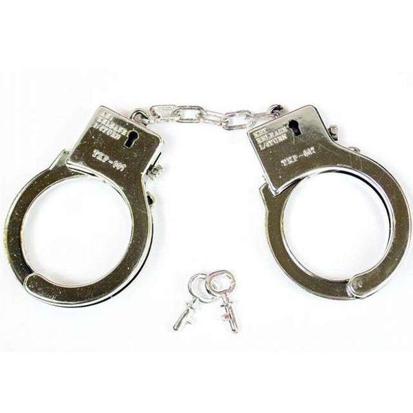 KAJDANKI policyjne na kluczyk PANIEŃSKI strój BDSM zdjęcie 1