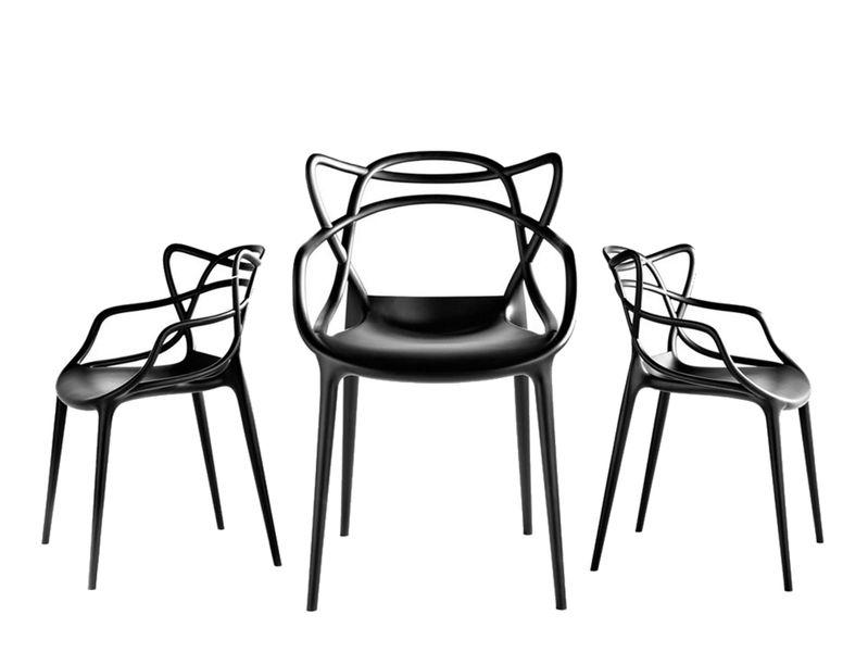 Krzesło Dankor Design Masters czarny wzmacniany zdjęcie 5