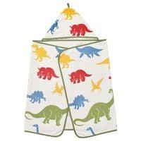 IKEA JATTELIK Ręcznik z kapturem, dinozaur, 140x70