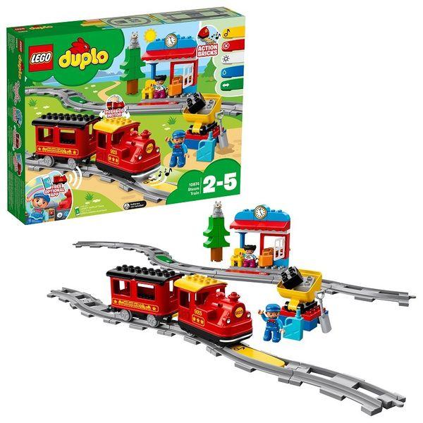 KLOCKI LEGO DUPLO POCIĄG PAROWY 10874 || SKLEP NYGUS zdjęcie 1