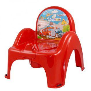 TEGA CS-007-121 Nocnik krzesełko AUTA czerwony