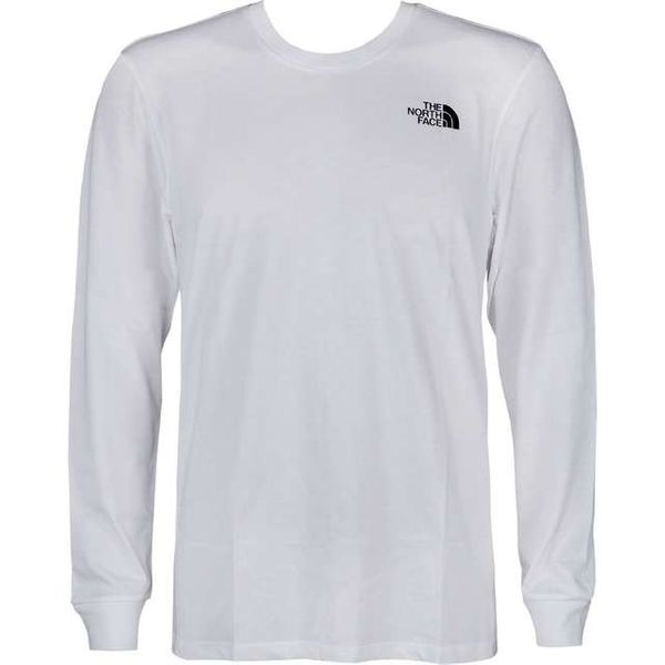 new lower prices special for shoe sale The North Face MEN'S LONGSLEEVE SIMPLE DOME TEE TNF WHITE Rozmiar - S