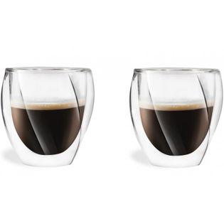 Szklanki Termiczne Kawa Herbata Espresso 250ML 2 sztuki