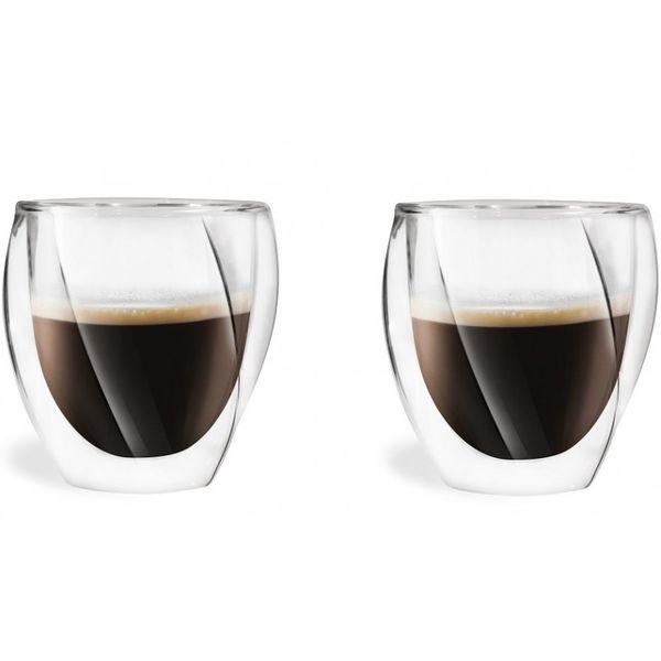 Szklanki Termiczne Kawa Herbata Espresso 250ML 2 sztuki zdjęcie 1