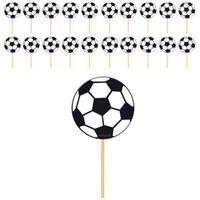 Dekoracja ozdoba piker PIŁKA NOŻNA piłkarskie x20