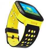 Zegarek smartwatch dla dzieci z lokalizatorem GPS KIDS SOS - żółty zdjęcie 3