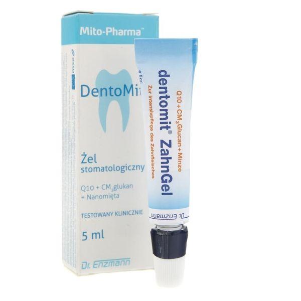 Mito-Pharma DentoMit żel stomatologiczny - 5 ml zdjęcie 3