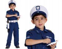 POLICJANT DROGÓWKA STRÓJ Karnawałowy 128