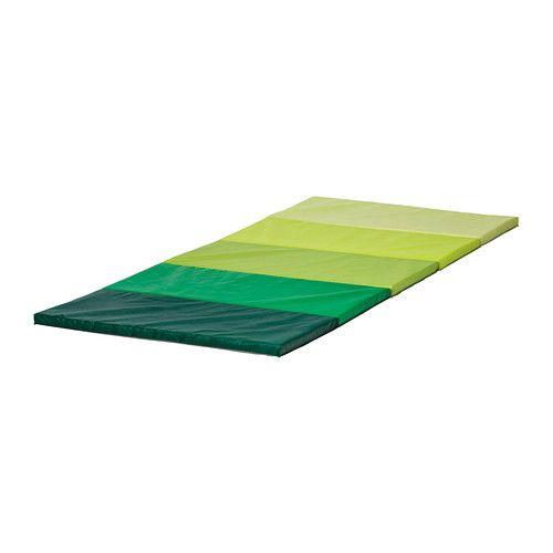 Składana mata gimnastyczna PLUFSIG , zielona Ikea zdjęcie 1