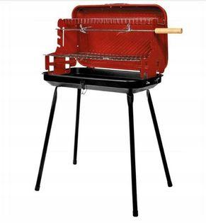 Grill prostokątny walizkowy 49x30x53