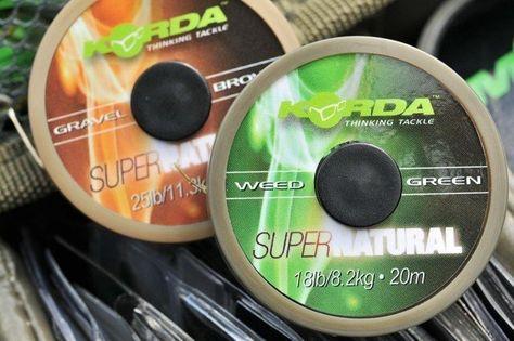 KORDA Super Natural - Weedy Green - 18lb 20m
