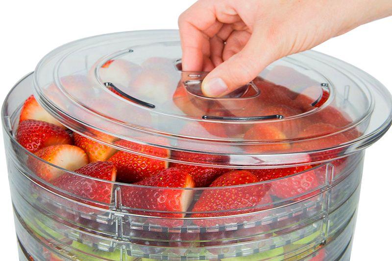 Suszarka do Grzybów Owoców Ziół Warzyw 6 Sit 280W 6428 zdjęcie 4