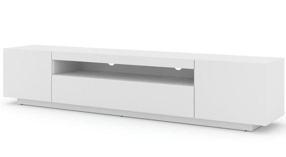 Szafka RTV AURA 200 uniwersalna wisząca biały mat