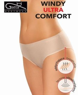 Figi Bikini Ultra Comfort WINDY Rozmiar - XL, Kolor - Czarny