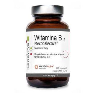 Witamina B12 MecobalActice Metylokobalamina 500mcg 60 kapsułek kenayAG