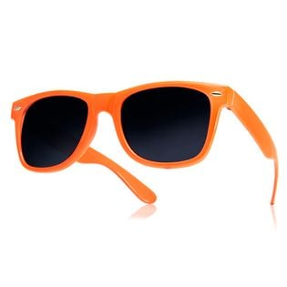 Okulary przeciwsłoneczne WAYFARER nerdy kujonki # POMARAŃCZOWE