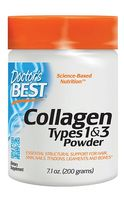DOCTOR'S BEST Collagen Types 1 & 3 200g Kolagen w proszku Peptan
