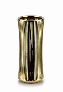Wazon Ceramiczny 10X10X24.5Cm Yvonne Gold Mondex Htts6581